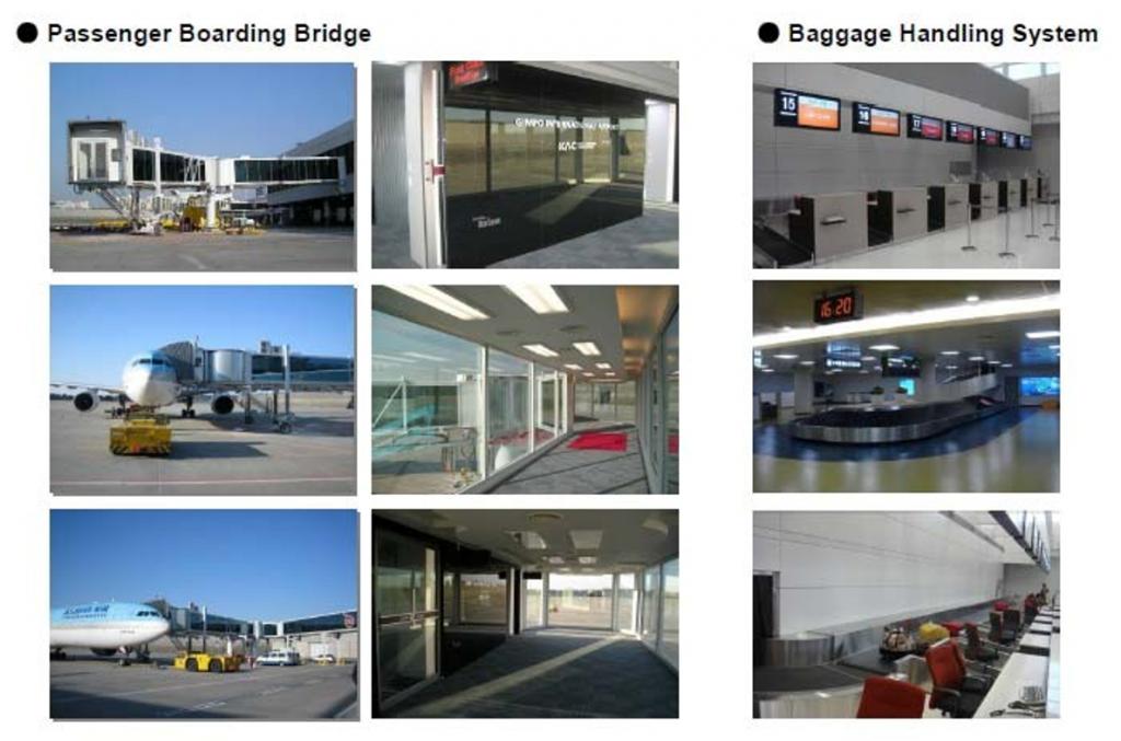 Cầu hành khách sân bay & Hệ thống băng tải hành lý