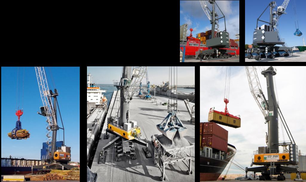 Cần cẩu bờ di động - Mobile Harbour Cranes