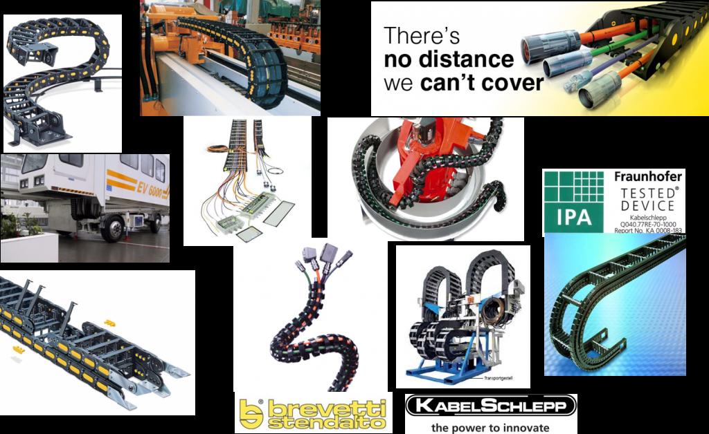 Xích dẫn cáp - Cable Chains