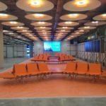 Băng ghế nhà chờ nhà ga, sân bay..